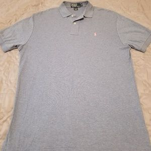 Ralph Lauren polo blue with pink pony